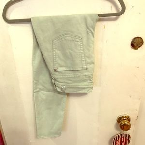 Seven for all Mankind Colored Jeans (mint)